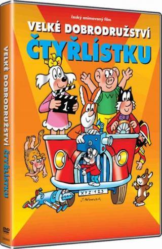 Velké dobrodružství Čtyřlístku - Němeček Jaroslav [DVD]